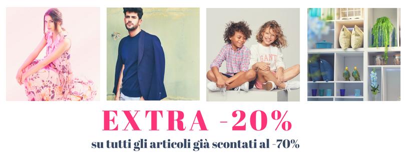 Promozione negli stores: EXTRA-30%