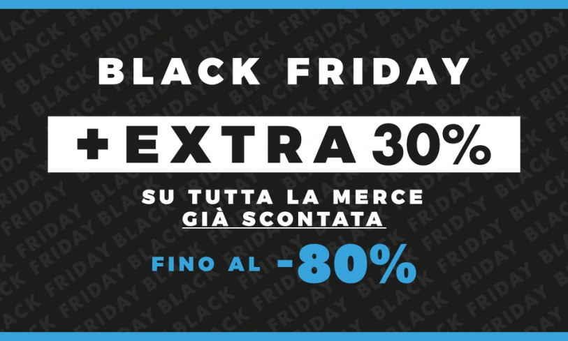Black Friday: EXTRA 30%